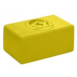 Jóga tégla Trendy 23x15x10 cm sárga