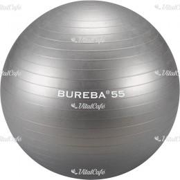 Trendy Bureba durránásmentes labda 55 cm ezüst
