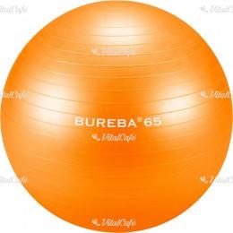 Trendy Bureba durránásmentes labda 65 cm narancs