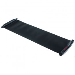 Csúszó tornaszőnyeg Gymstick 180 cm fekete