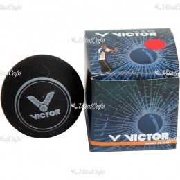 Squash labda Victor piros