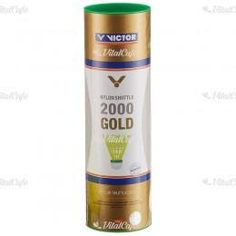 Tollaslabda Victor 2000 Gold zöld csík, sárga szoknya
