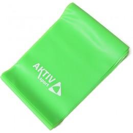Fitnesz szalag Aktivsport zöld közepes