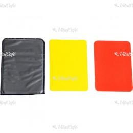 Aktivsport Bírói lap tokban(piros+sárga)