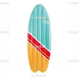 Felfújható szörfdeszka Intex kék-sárga
