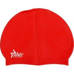 Swimfit 302090J szilikon úszósapka junior piros