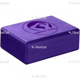 Trendy Jóga tégla 23x15x7,5 cm lila