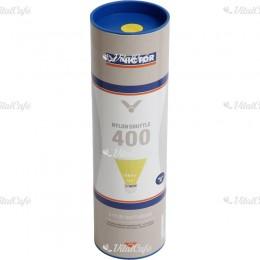 Tollaslabda Victor Nylon Shuttle 400 szintetikus fej, sárga