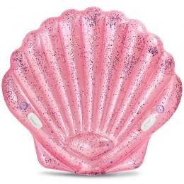 Kagyló matrac Intex rózsaszín