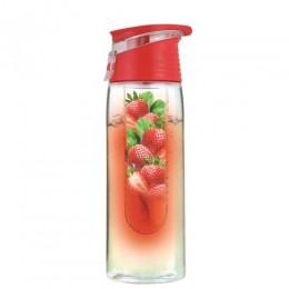 Vivamax GYVL1P Limonádé készítő palack, 750 ml - Piros