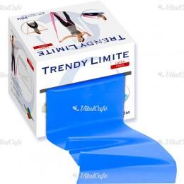 Fitnesz szalag Trendy Limite 25 m extra erős kék