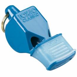 Síp Fox 40 CMG fogvédővel kék sípzsinórral