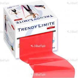 Fitnesz szalag Trendy Limite 25 m erős piros