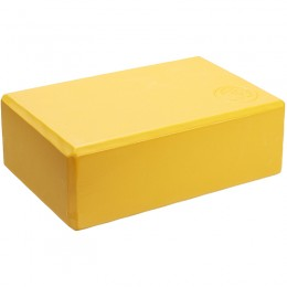 Jóga tégla Trendy 23x15x7,5 cm sárga