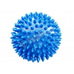 Masszírozó labda 10cm kék tüskes r-med