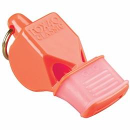 Síp Fox 40 CMG fogvédővel narancs sípzsinórral