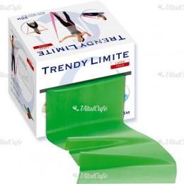 Fitnesz szalag Trendy Limite 25 m közepes zöld