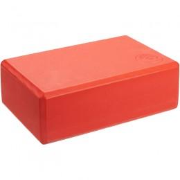 Jóga tégla Trendy 23x15x7,5 cm piros