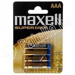Maxell lr03 aaa ceruzaelem mikro alkali