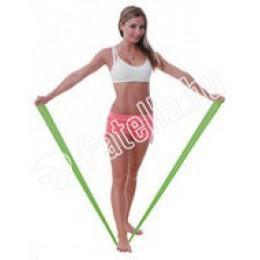 Fit-band gumiszalag 1.5m zöld erös