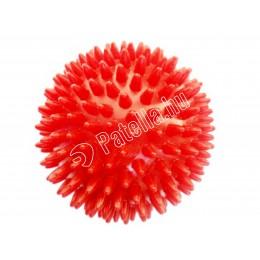 Masszírozó labda 9cm piros tüskés r-med