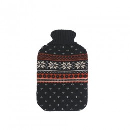 Melegítő palack (Vivamax/téli mintás/kék-piros/2L)
