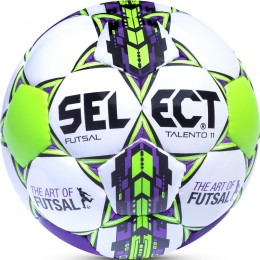 Futball labda Select Talento No.11 fehér-zöld