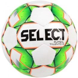 Futsal labda Select Talento 9 2019 fehér-zöld
