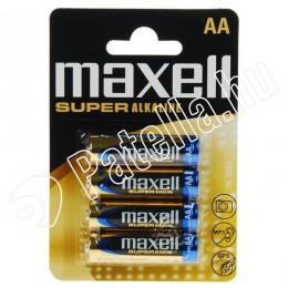 Maxell lr6 aa ceruzaelem alkali  (4+2db)
