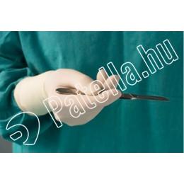 Steril gumikesztyű latex púderezett 7,5