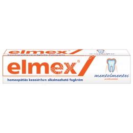 Elmex fogkrém mentholmentes 75ml 1x