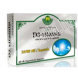 D3 vitamin 2000ne 60x