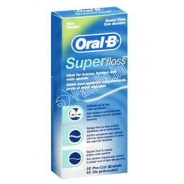 Oral-b fogselyem superfloss 50szál