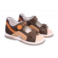 MEMO gyerekcipő - ZAFIR barna