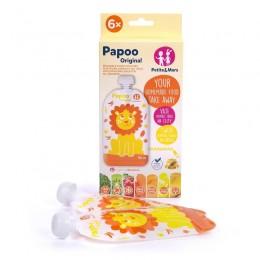 P&M Papoo Original tasak bébiételekhez, lion 6 db