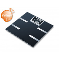 Beurer BF 700 Üveg diagnosztikai mérleg Bluetooth