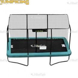 Trambulin Jumpking szögletes 244x366 cm