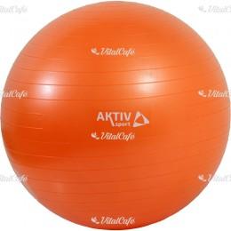 Durranásmentes labda Aktivsport 55 cm narancs
