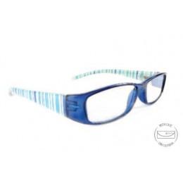 Designer kék olvasó szemüveg