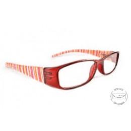 Designer piros olvasó szemüveg