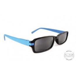 Sötétített kék olvasószemüveg