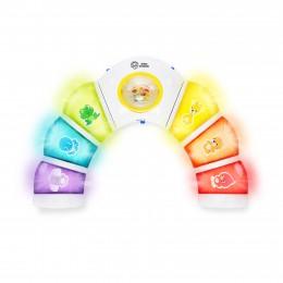 BS BABY EINSTEIN Aktív Játékív fényekkel  Glow & Discover Light Bar™ 3hó+