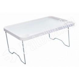 Ágyasztal 57x36cm müanyag talcas összecs