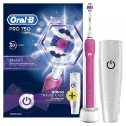 Oral-B PRO 750 3D White + úti tok 2016OND