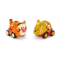 BS Oball Go Grippers 18 hó+ játék autó  Winnie The Pooh&Friends 2 db-os