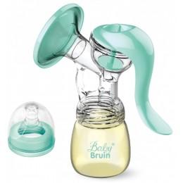 BabyBruin kétfázisú mellszívó PP széles nyakú cumisüveggel