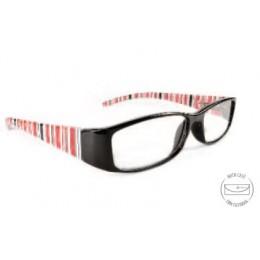 Designer fekete olvasó szemüveg