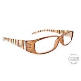 Designer krém olvasó szemüveg