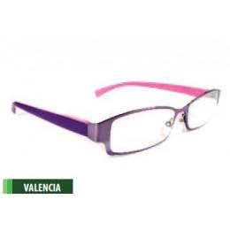 Lila olvasószemüveg
