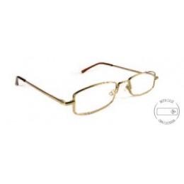 Vékony keretes arany színű szemüveg